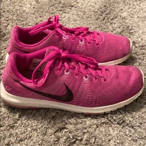 Athletic Nike running shoes